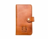 Nic & Mel Andrew bookcase iPhone 6 Cognac