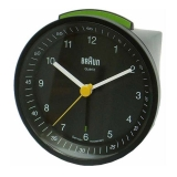 Braun Väckarur Quartz Black Incr./Snooze/Light