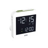 Braun RCC Digitalt Väckarur White, Snooze/Light