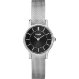 Timex Woman Steel Ø26mm, Black dial, Meshband