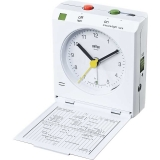 Braun Väckarur White, Reflex Control, World Time