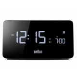 Braun VA LCD Connected Clock, Svart