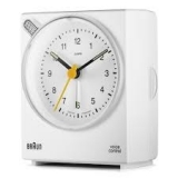 Braun väckarklocka white, voice activated BNC004WHWH