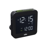 Braun RCC Digitalt Väckarur Black, Snooze/Light