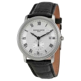 Slimline Gents Small Seconds Silver