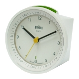Braun Väckarur Quartz White Incr./Snooze/Light