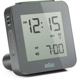 Braun RCC Digitalt Väckarur Grey, Snooze/Light  BNC009GY