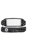 Deevotion Pure Black Band, One size